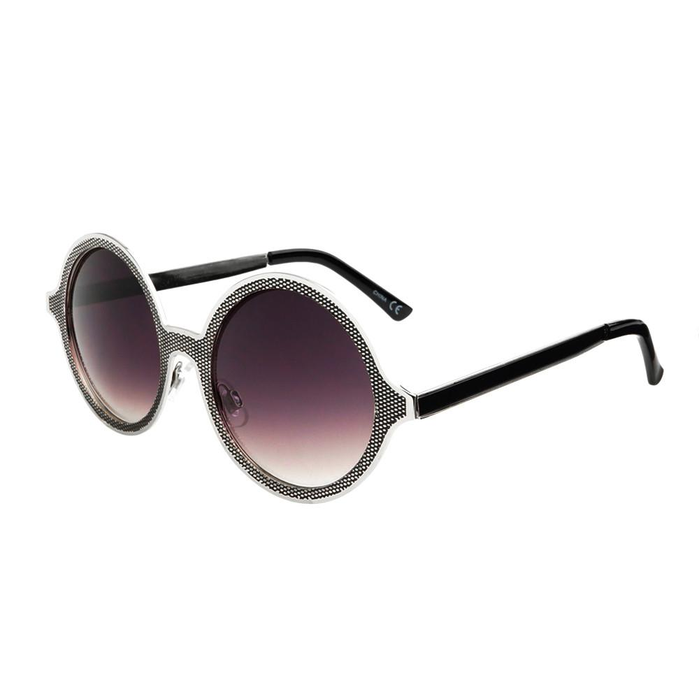 Celebrity Designer Style Unique Metal Round Sunglasses R1920 - FREYRS - Beautifully designed, cheap sunglasses for men & women  - 5