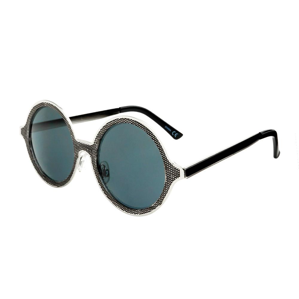 Celebrity Designer Style Unique Metal Round Sunglasses R1920 - FREYRS - Beautifully designed, cheap sunglasses for men & women  - 4