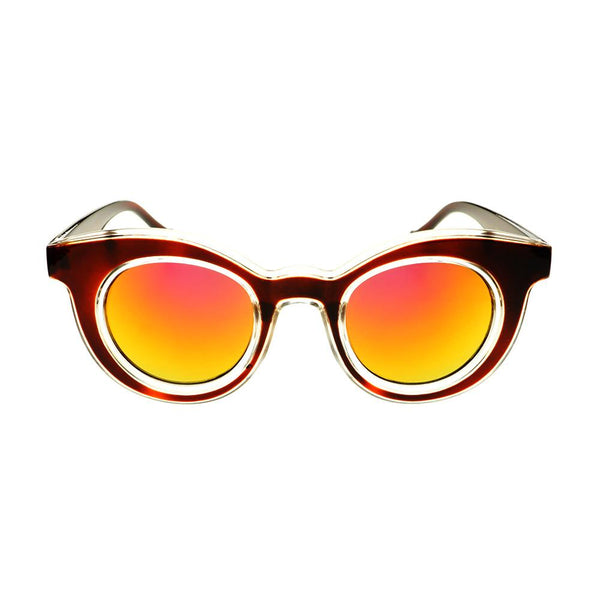 Unique Designer Style Mirror Lens Round Sunglasses Shades R2200 - FREYRS - Beautifully designed, cheap sunglasses for men & women  - 1
