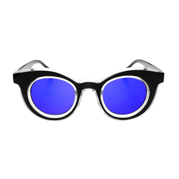 Unique Designer Style Mirror Lens Round Sunglasses Shades R2200 - FREYRS - Beautifully designed, cheap sunglasses for men & women  - 5