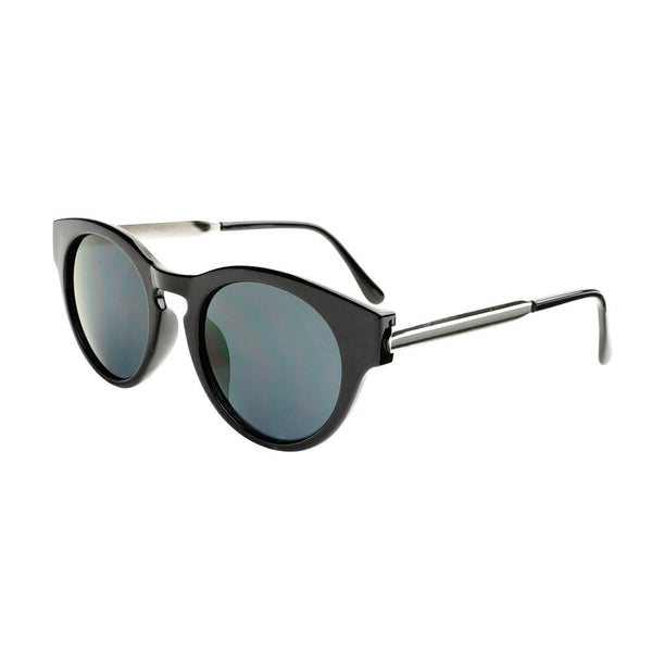 Fashion Designer Style Metal Arms Keyhole Round Sunglasses R95 - FREYRS - Beautifully designed, cheap sunglasses for men & women  - 1