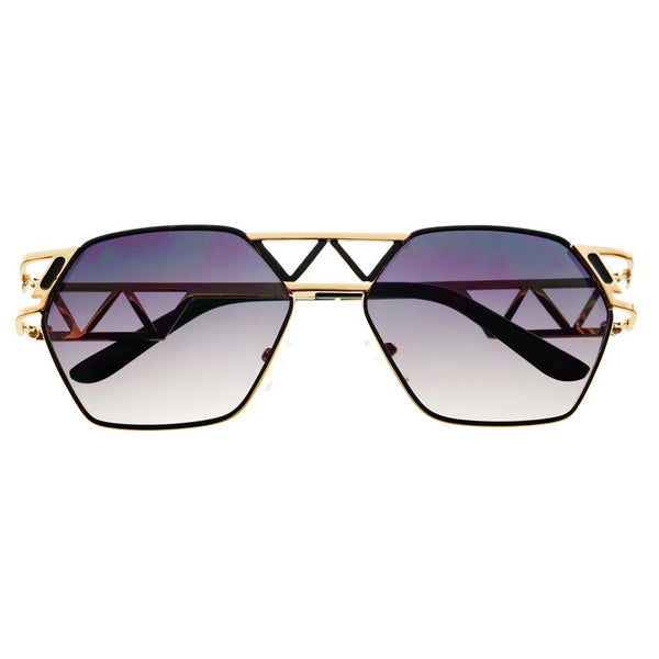 Unique Designer Celebrity Fashion Metal Sunglasses Shades A1340 - FREYRS - Beautifully designed, cheap sunglasses for men & women  - 2
