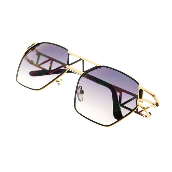 Unique Designer Celebrity Fashion Metal Sunglasses Shades A1340 - FREYRS - Beautifully designed, cheap sunglasses for men & women  - 3
