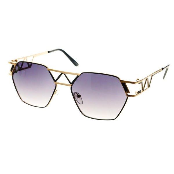 Unique Designer Celebrity Fashion Metal Sunglasses Shades A1340 - FREYRS - Beautifully designed, cheap sunglasses for men & women  - 4