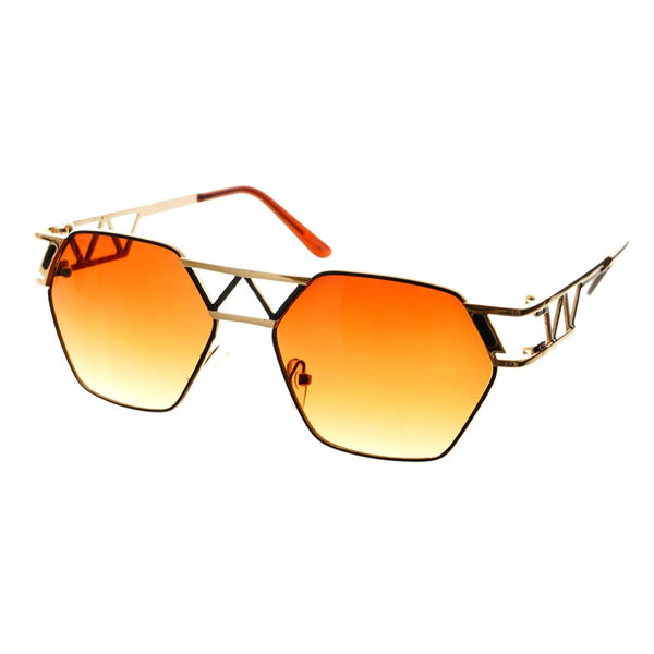 Unique Designer Celebrity Fashion Metal Sunglasses Shades A1340 - FREYRS - Beautifully designed, cheap sunglasses for men & women  - 6