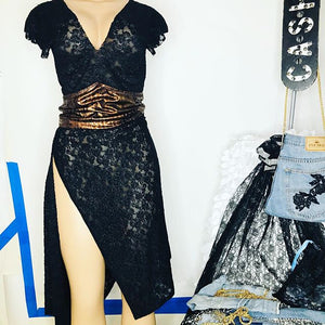 Lace Black Love Dress