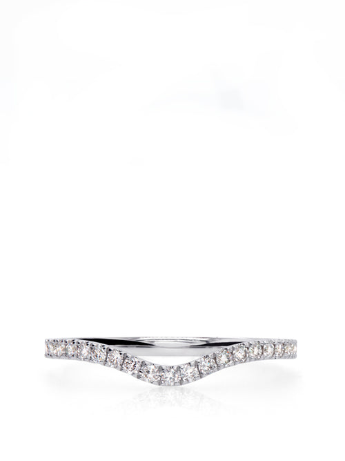 Curve Diamond Ring