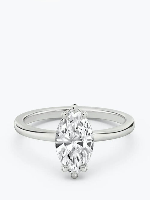 1ct E colour VS1 clarity Marquise Cut Solitaire