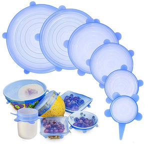 RJ Stretchy Eco Lids (6 Piece Set) - Rejuvenatur