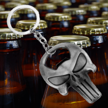 Load image into Gallery viewer, The Punisher Key Chain Bottle Opener