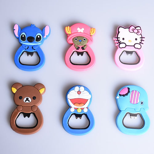 Cartoon Magnetic Bottle Opener