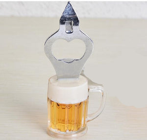 Magnetic Beer Glass Bottle Opener
