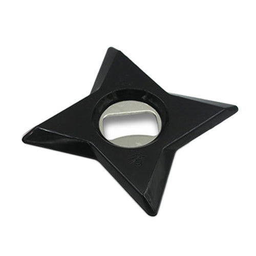 Magnetic Throwing Star Bottle Opener