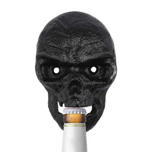 Wall Mount Skull Bottle Opener