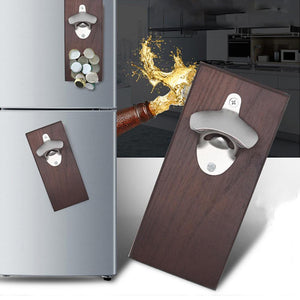 Magnetic Wall Mount Bottle Opener