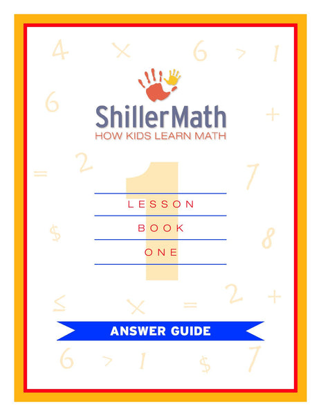 Math Answer Guide 1 (PDF)