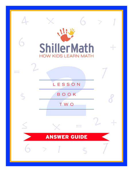Math Answer Guide 2 (PDF)
