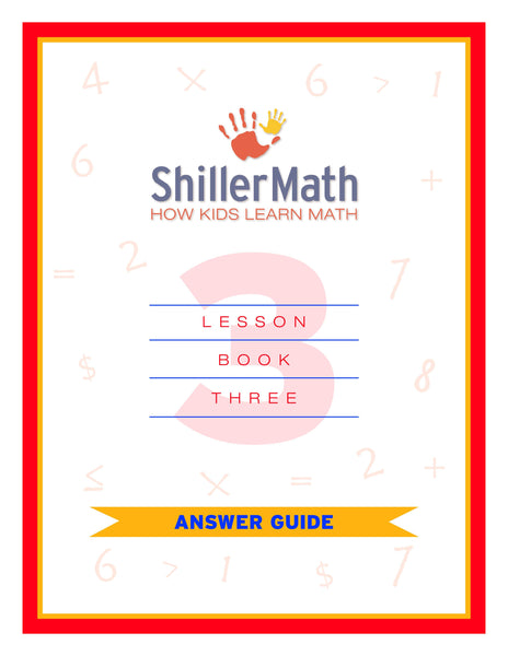 Math Answer Guide 3 (PDF)
