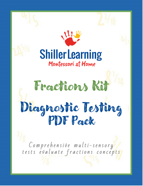 Fractions Diagnostic Tests and Answer Keys