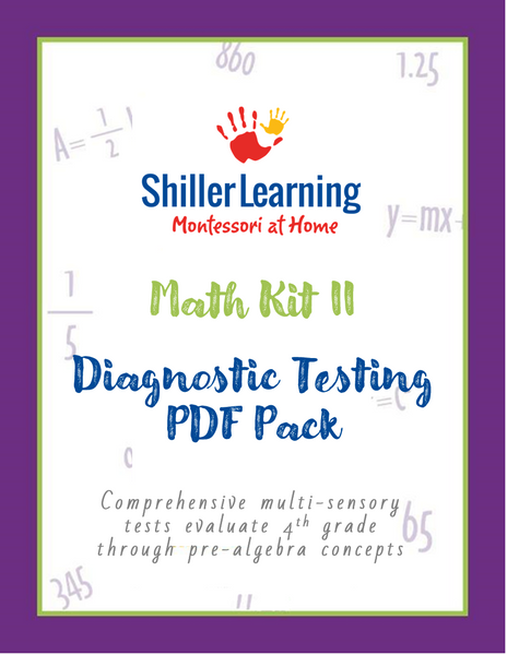 Math Kit II Diagnostic Tests and Answer Keys
