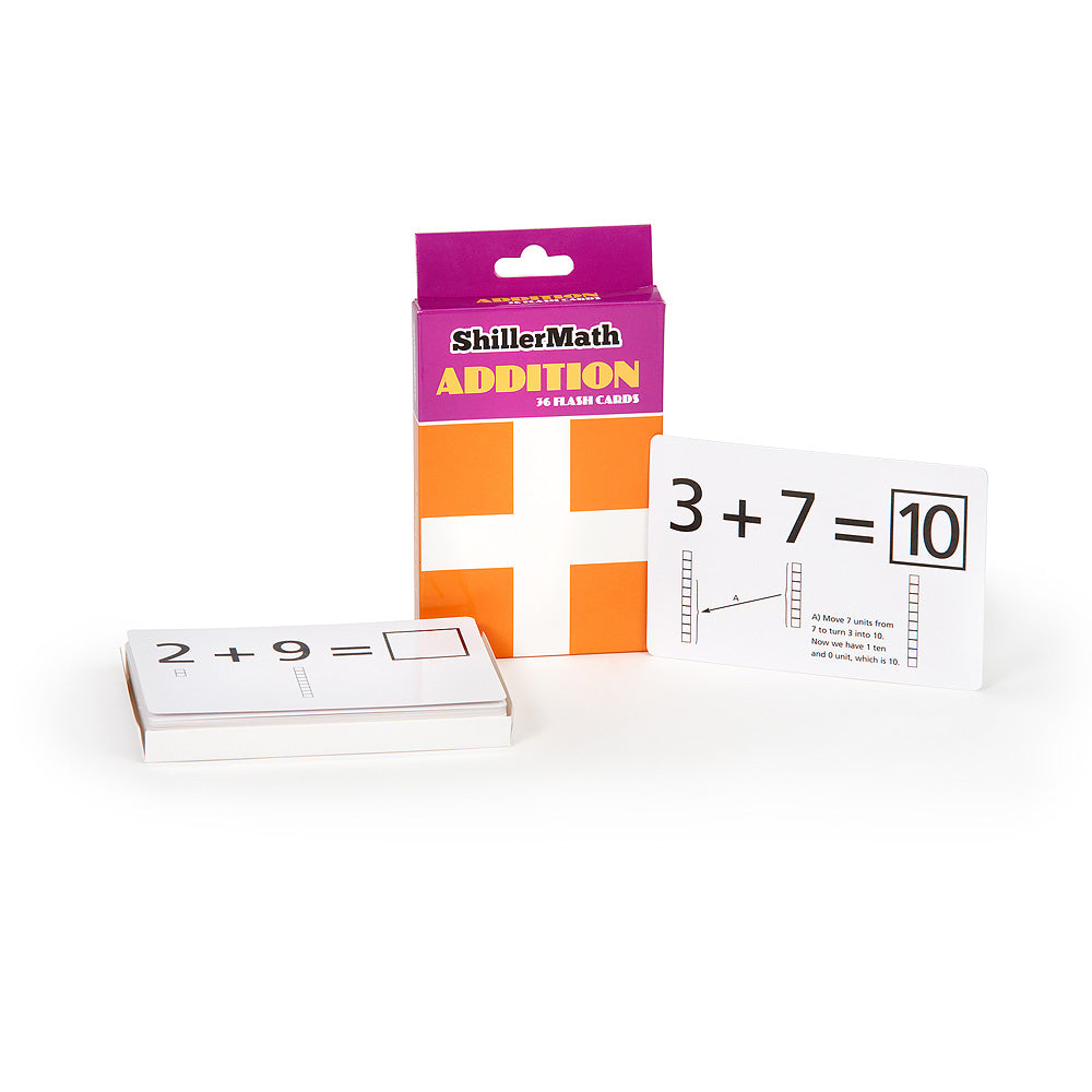 Flashcard 4-Pack - Basic Addition, Subtraction, Multiplication, and Division
