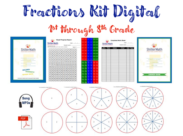 Fractions Kit DIGITAL (G2-G8)