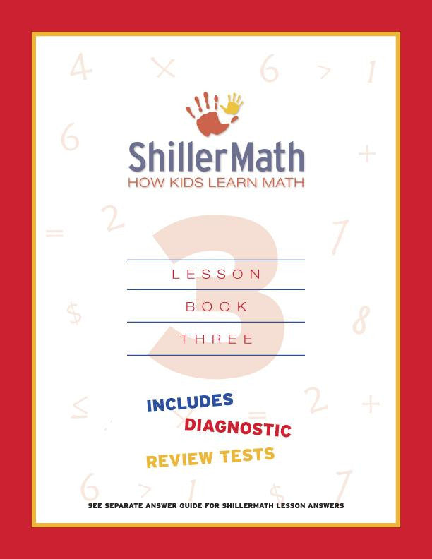 Math Lesson Book 3