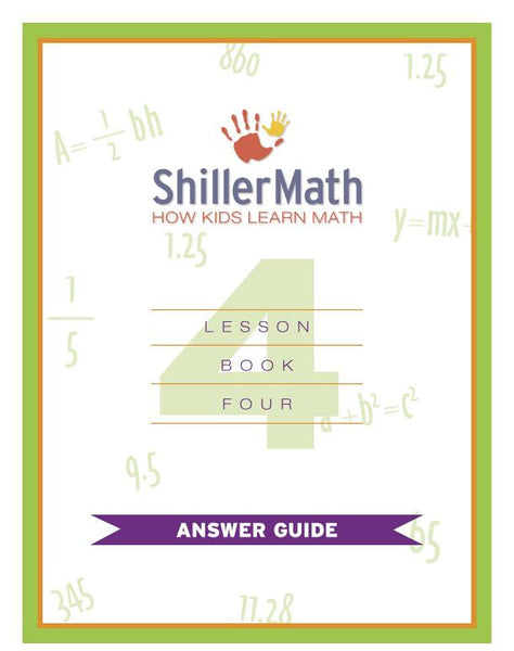 Math Answer Guide 4