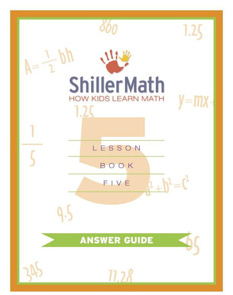 Math Answer Guide 5