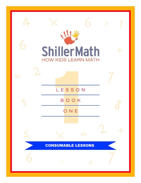 Math Lesson Book 1 Student Consumables
