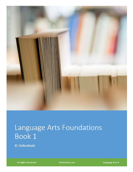 Language Arts Lesson Book 1