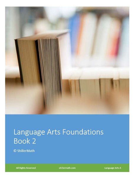 Language Arts Lesson Book 2