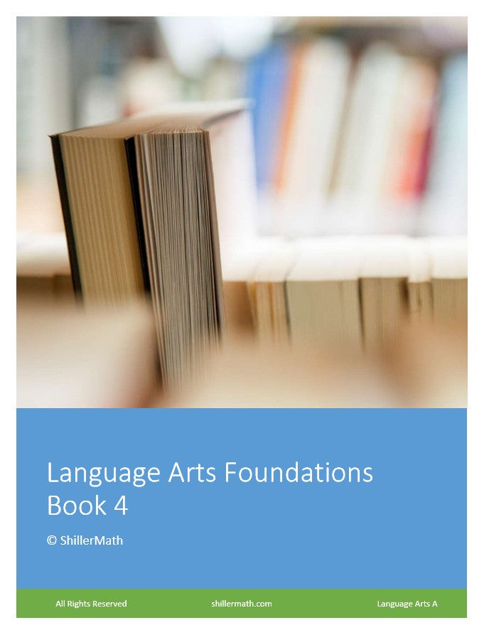 Language Arts Lesson Book 4