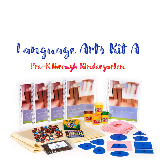 Language Arts Kit A (pre-k(3)/kindergarten/1st grade)