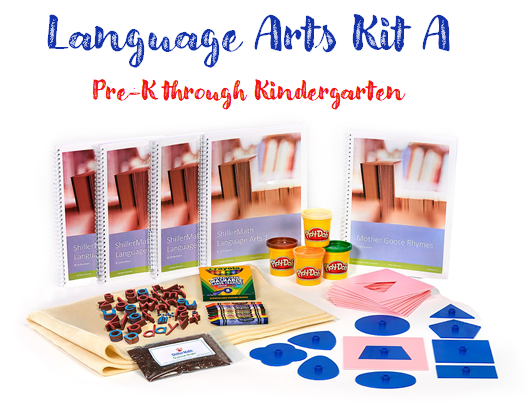 Pre-Owned Language Arts Kit A (PreK/K-G1)