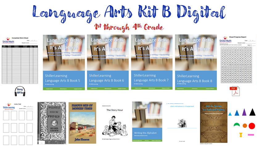 Language Arts Kit B DIGITAL (G1-G4)