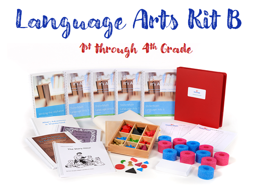 Pre-Owned Language Arts Kit B (G1-G4)