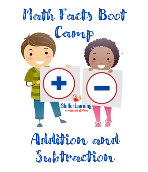 Addition and Subtraction Math Facts Boot Camp Class