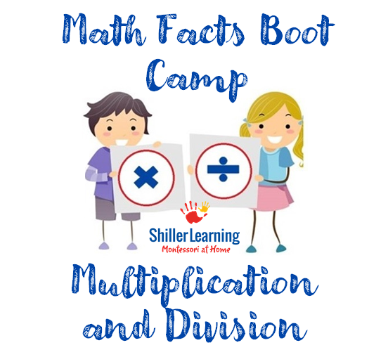 Multiplication and Division Math Facts Boot Camp Class