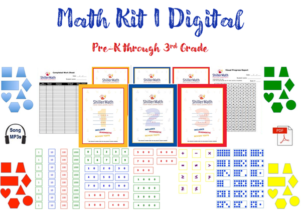 Math Kit I DIGITAL (PreK-G3)