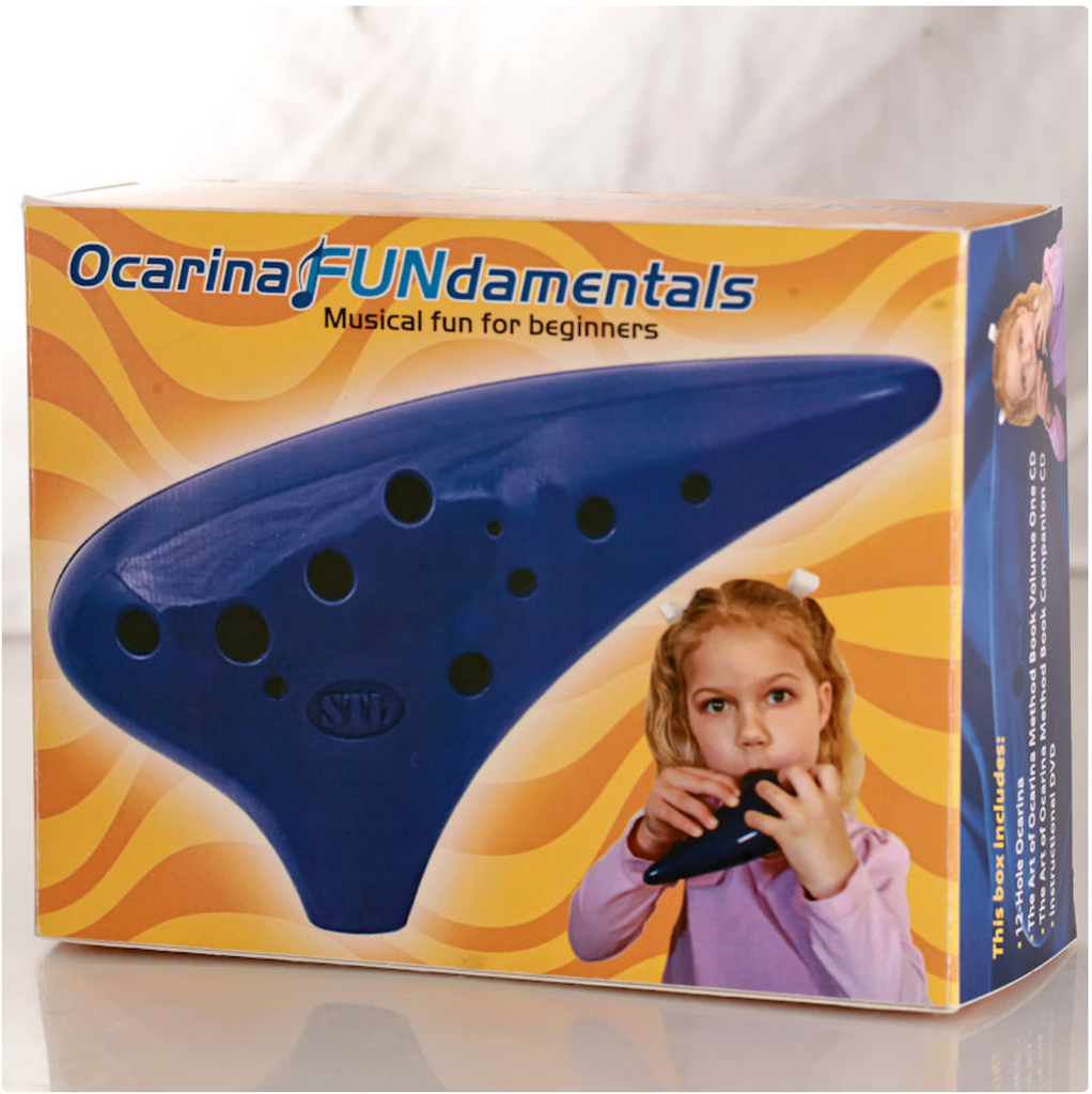 Ocarina FUNdamentals for 12 Hole Ocarina