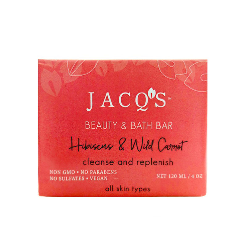 Hibiscus and Wild Carrot Beauty and Bath Bar