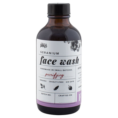 Geranium Face Wash - Chloe & Chad