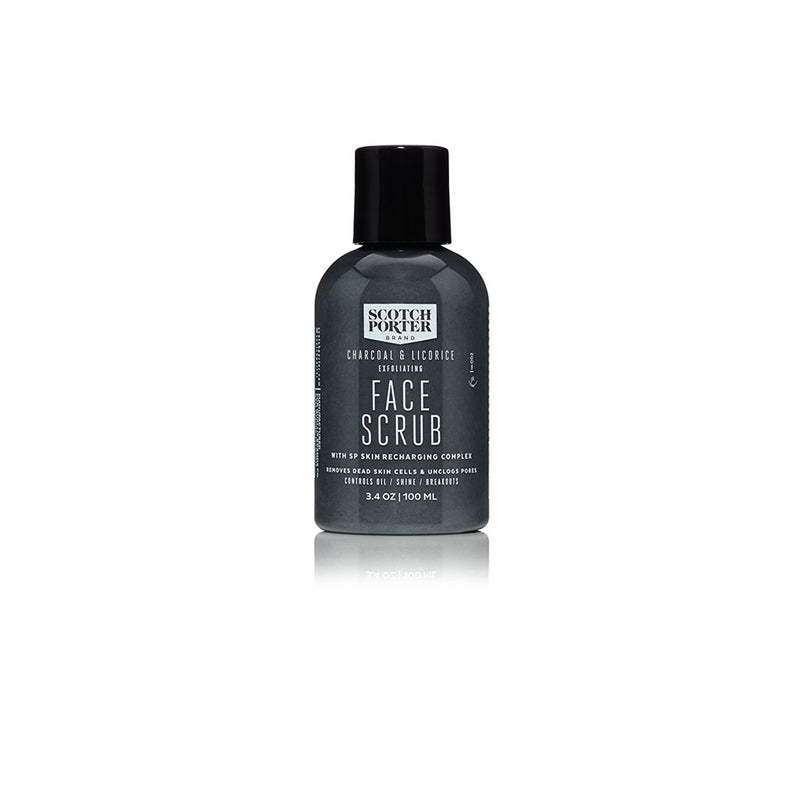 Charcoal Licorice Face Scrub