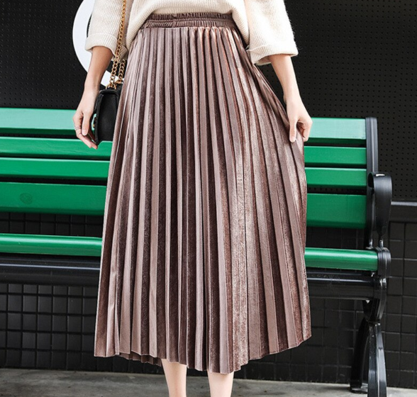 That Pleated Skirt
