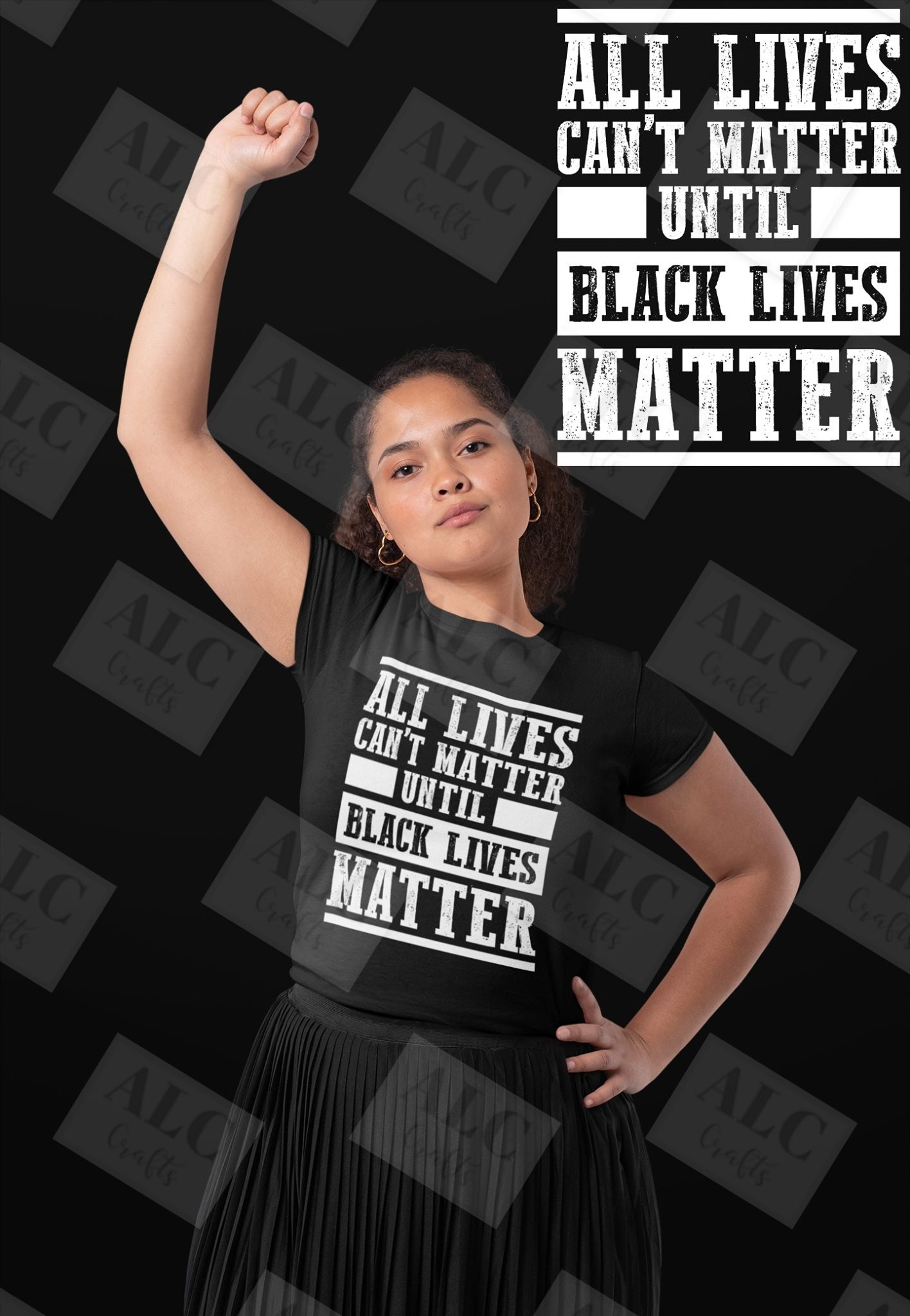 All Lives Cant Matter Until BLM Shirt
