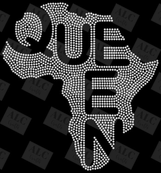 Queen in Africa Rhinestone Shirt