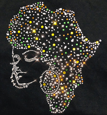 Lady in Africa Rhinestud Shirt