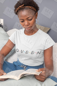 Queen Rhinestone Shirt