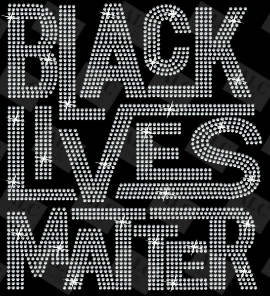 Black Lives Matter 2.0 Rhinestone Shirt